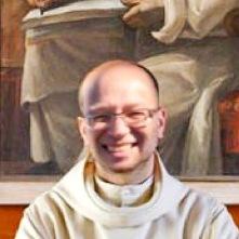 Dom Ugo-Maria at Certosa di Santo Stefano di Serra San Bruno the Carthusian Monastery in Calabria in 1999