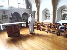 Dom Ugo-Maria at Minster Priory Church in 2008