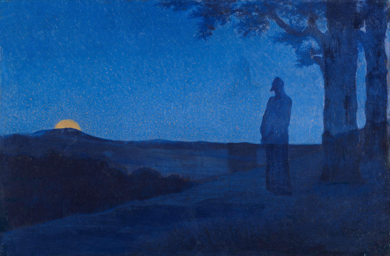 La Solitude du Christ by Alphonse Osbert